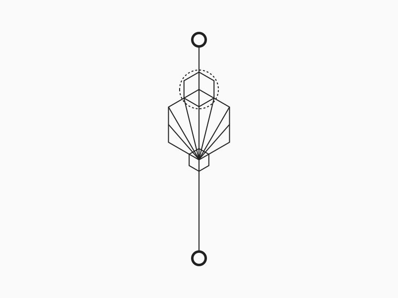 Zen - Minimal Tattoo 50 logo yoga flow explanation meaning mark tattoo minimalism minimal geometric design zen