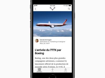 Magazine App Freebie - Tech Résumé