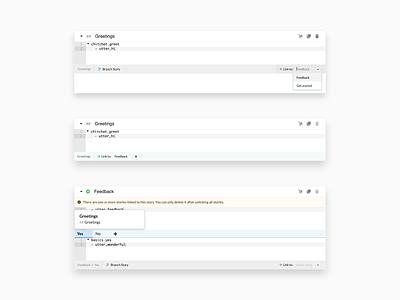 Botfront Linking natural linking chat entity intent conversation open-source open source validate utterance web app desktop artificial intelligence nlu ai rasa chatbot bot botfront
