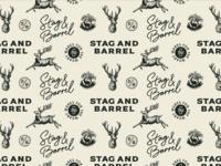 Stag & Barrel Branding