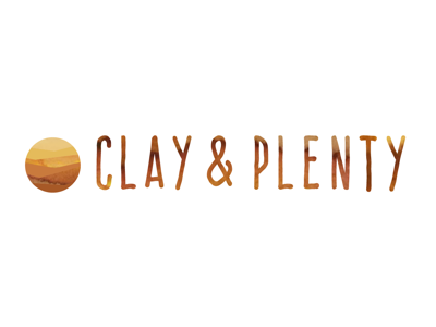 logo design: Clay and Plenty