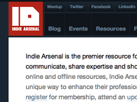 Indie Arsenal Website v2