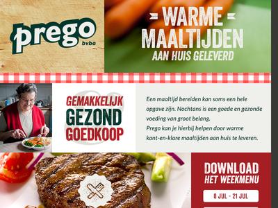 Prego website