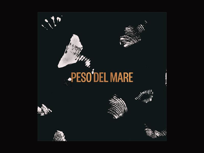 Peso icon illustration design typography branding black grain pattern texture print scan ocean sea shells color type logotype jewerly fashion logo