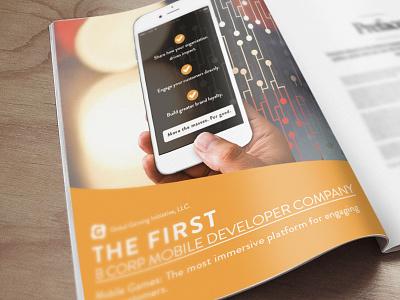 Global Gaming Initiative poster magazinema ad poster