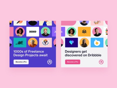 Instagram Ads profile social media pattern instagram post instagram dribbble designer dribbble custom grid clean design figma ad design ad