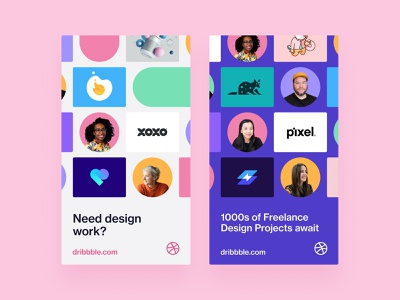 Instagram Story Ads marketing social media profile pattern instagram instagram story figma dribbble designer dribbble custom grid clean design ad campaign ad design
