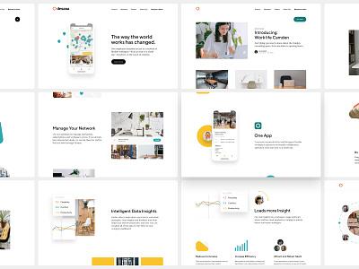 Desana Website website web designer web design ui designer ui design ux ui product design office space light ui home page brand identity brand designer brand design app website app design