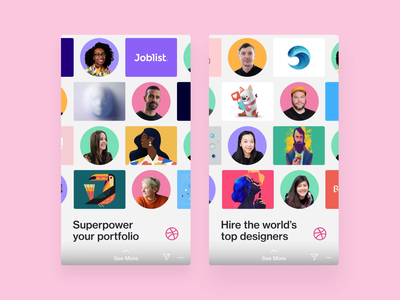 Instagram Story (video) social media pattern motion design instagram stories instagram dribbble custom grid clean design after effects video ad ad design ad