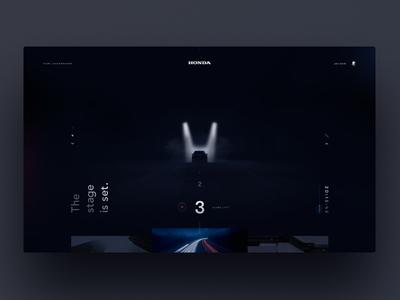 Honda unveil countdown
