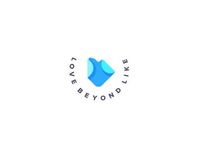 Love Beyond Like Logo
