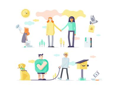 Uniting Care Illustrations