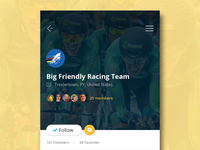 Team Profile Page