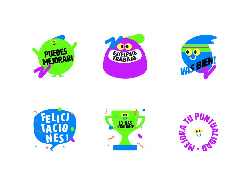 Limca Stickers 2d kids illustration stickers kids little studio gif character animation thelittlelabs illustration