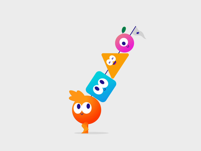 The Kebab after effects motion graphics after effects loop run cycle run kebab food color 2d animation characterdesign 2d design character animation gif thelittlelabs illustration