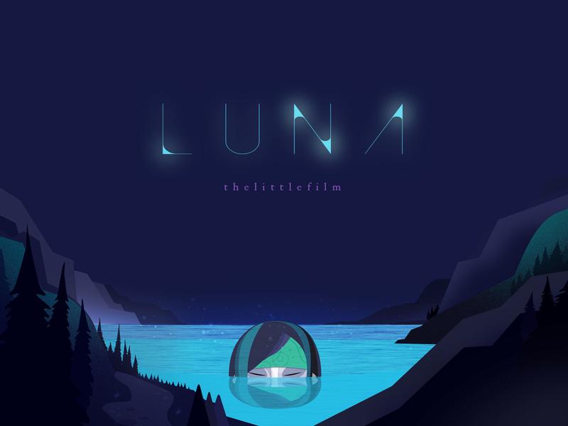 Luna - thelittlefilm loop studio thelittlelabs characterdesign illustration animation 2d mushrooms mushroom short micro luna thelittlefilms