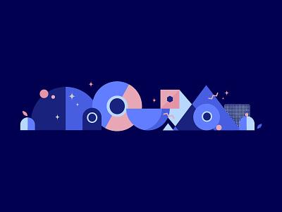 Logo Patterns & Colors gif branding vector studio little design animation thelittlelabs illustration