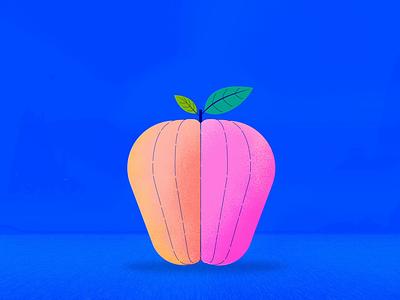 Le Apple 2d studio character gif design thelittlelabs animation illustration iapple