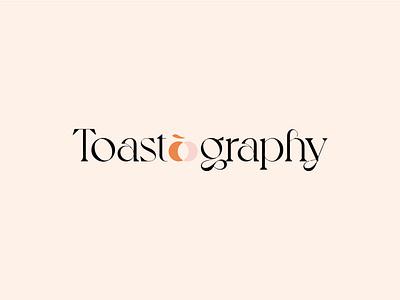 Toastography identity design identity brand identity logo design brand branding logotype typogaphy logo