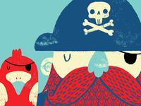 Old Captain Redbeard