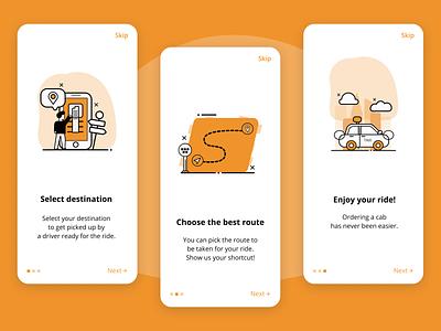 DailyUI 023 - Onboarding vector mobile design app minimal app design onboarding ui onboarding screens onboarding ux ui design dailyui