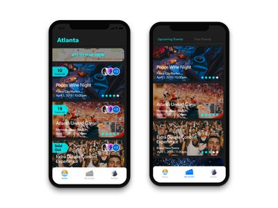 Nearby Events App