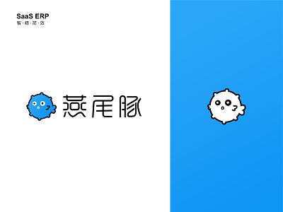 Logo design visual identity pufferfish logodesign logo identity branding