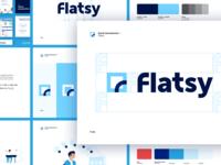 Flatsy : Branding 📐
