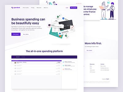 Spendesk: Homepage 💳