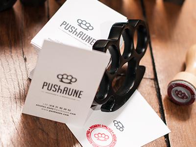 PUShAUNE Visit Card pushaune visit card
