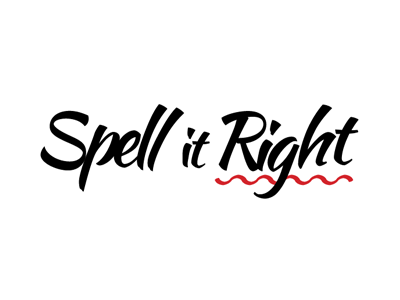 Spell It Right Logotype by Nicolas AUNE on Dribbble