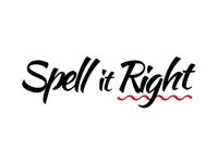 Spell It Right Logotype