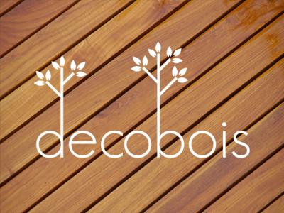 Decobois decobois wood bois logo logotype