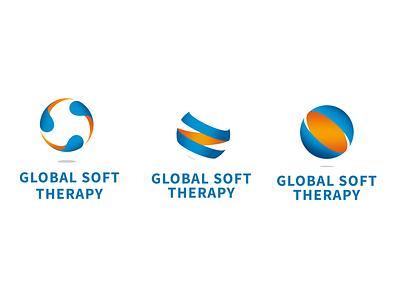 Global Soft Therapy logotype circle logotype