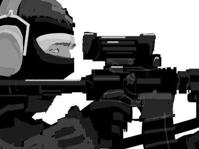 Got Your Six pushaune illustration soldier