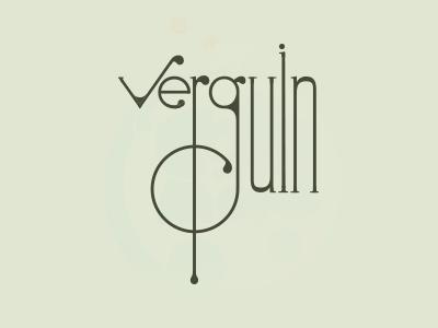 Verguin logotype logo logotype pushaune verguin paris