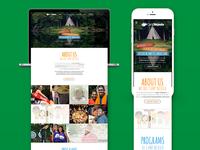Camp Nejeda Landing Pages