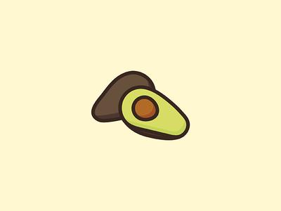 Avocado illustration avocado