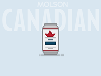 Beer Can #2: Molson Canadian Lager