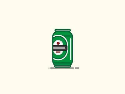 Beer Can #3: Heinekin