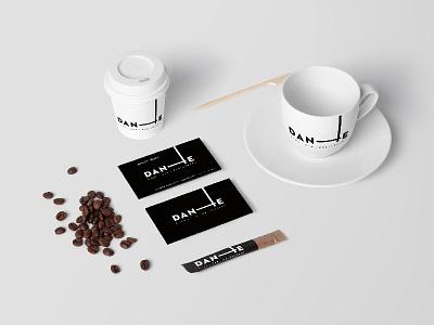 Dante Branding typography modern minimalist identity branding logo