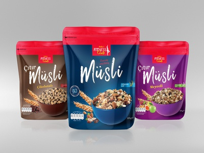 Musli OatMeal Package