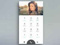 Daily UI Day003 Dial Pad