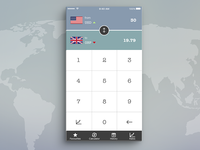 Daily UI Day006 Currency Calculator