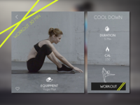 Daily UI Day008 Fitness Card