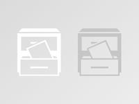 Archive Icon Single Color