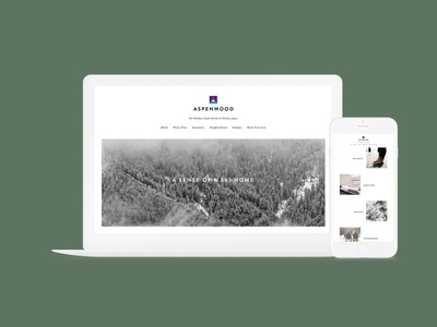 Aspenwood Niseko, Japan (Branding, Web Design,Social Media,Mkt.)