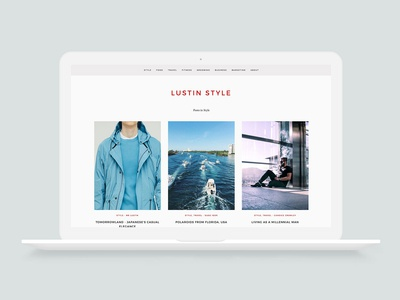 Lustin Style (Branding, Web Design, Social Media, Marketing)