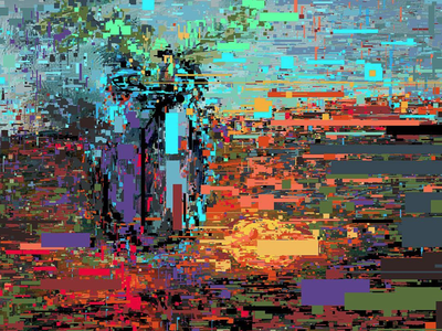 The Theory of Still Life pixel art fragmentsofmymind graphic illustration lemons live sketch stilllife surreal tablet glasses texture painting drawing pixelart glitchart complex art still life expressionism