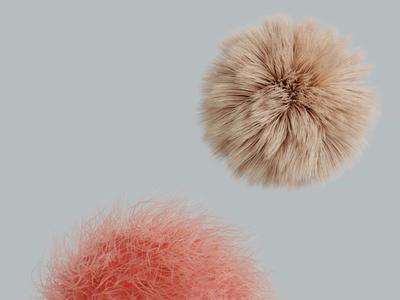 🧁 fluffy sweet art direction render 3d animation minimalistic motion